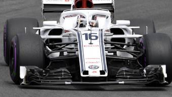 Mit Alfa Romeo und Ferrari im Aufwind: Saubers Charles Leclerc