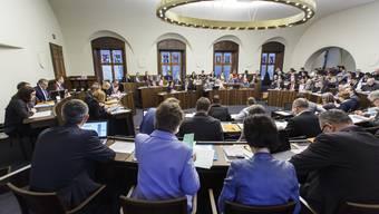 Will keine Beschränkung der Redezeit bei Interpellationen: Der Solothurner Kantonsrat.