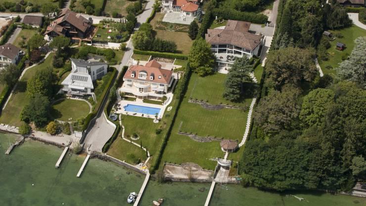 Dully VD am Genfersee: Die Waadt ist nach Angaben der Finanzdirektorenkonferenz der Kanton mit den meisten Pauschalbesteuerten. (Symbolbild)