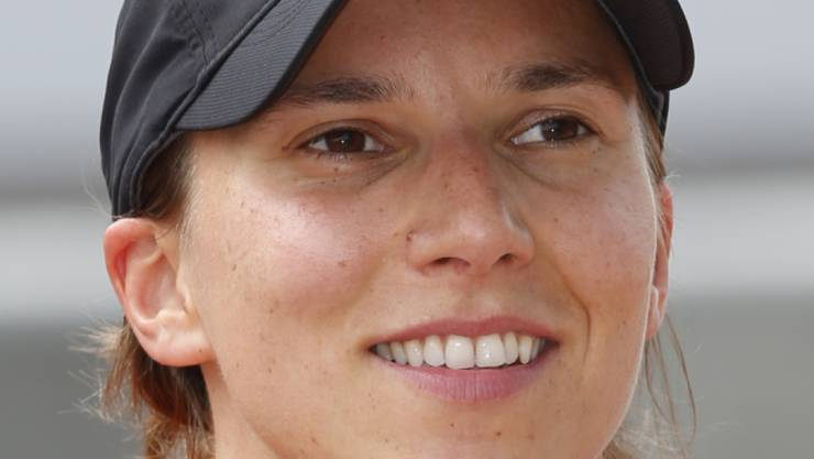 Simona de Silvestro, of Switzerland, poses for a photo after he qualified for the Indianapolis 500 auto race at Indianapolis Motor Speedway in Indianapolis, Saturday, May 16, 2015. (AP Photo/Dave Parker)