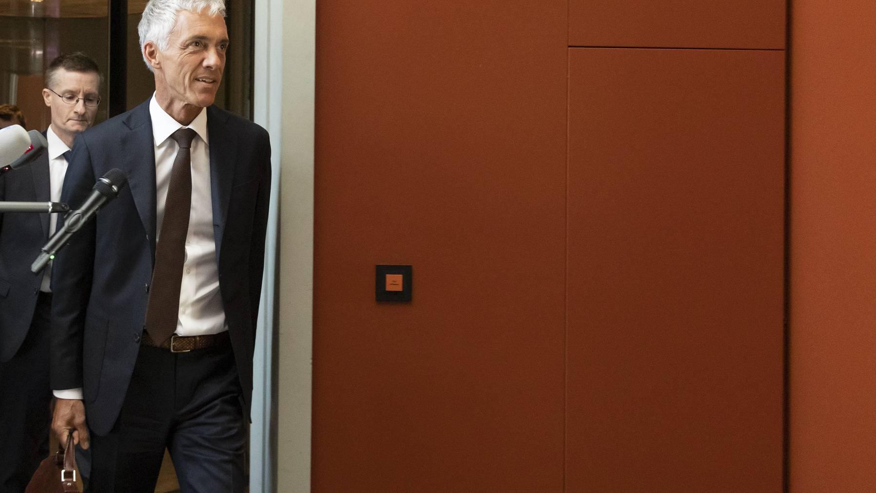 Nach dem Rücktritt von Michael Lauber ist die Stelle des Bundesanwalts zurzeit unbesetzt. (Symbolbild)