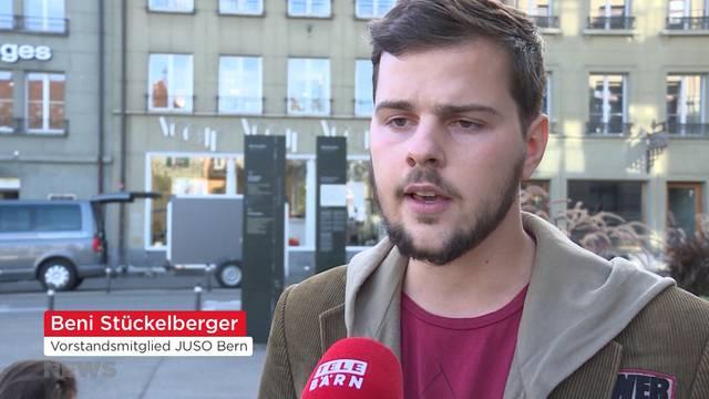 JUSO zeigt Berner Polizei an