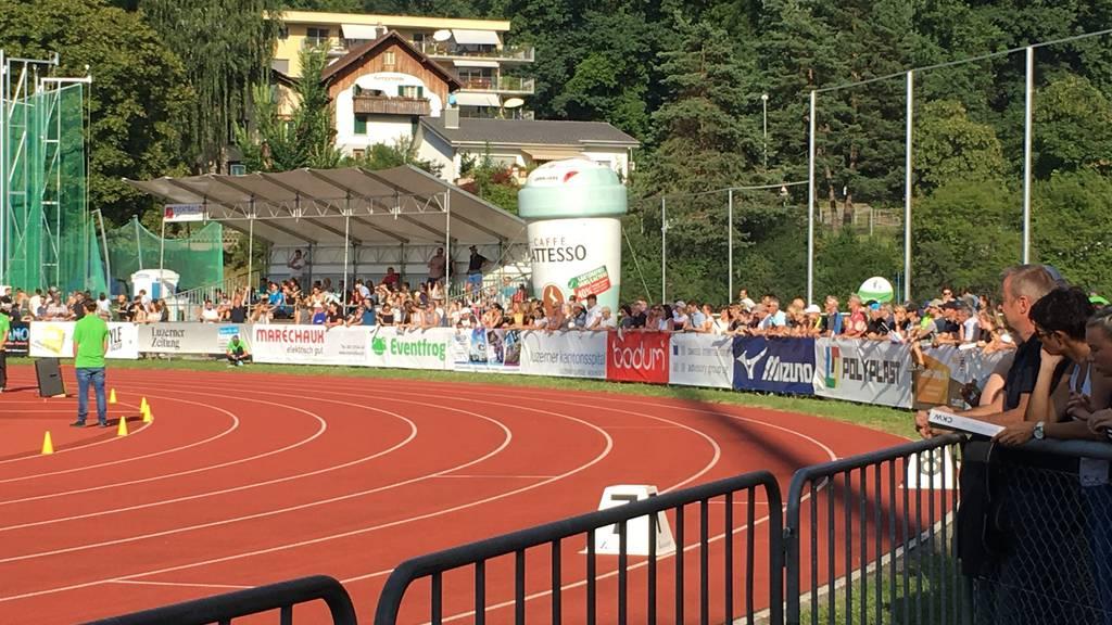 Spitzen Leichtathletik Luzern auf der Allmend Luzern