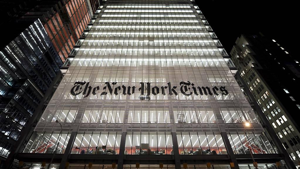 Die «New York Times» ist mit den Pulitzer-Preisen ausgezeichnet worden. (Symbolbild)