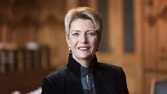 Karin Keller-Sutter könnte auf Johann Schneider-Ammann folgen. Nicht alle sind davon begeistert.