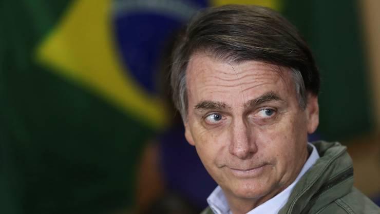 Er wird zum Lackmustest für die brasilianische Demokratie: Präsident Jair Bolsonaro.
