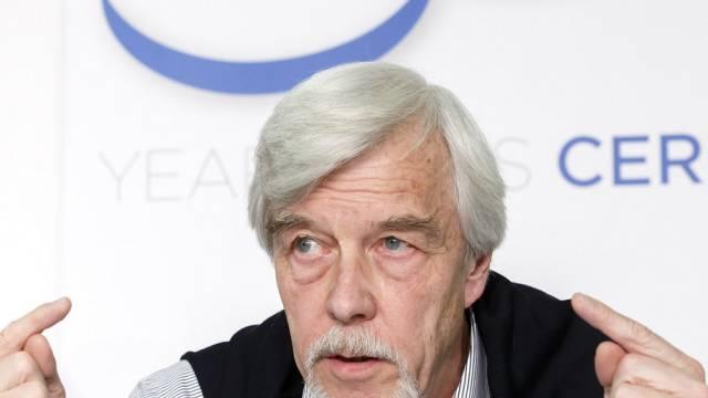 CERN-Direktor Rolf-Dieter Heuer in Genf