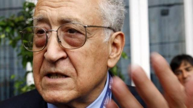 Der ehemalige algerische Aussenminister Lakhdar Brahimi (Archiv)