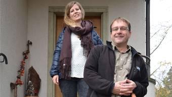 Deborah Speck (32, Primar) und Reto Michel (52, Oberstufe) sind Schulsozialarbeiter an der Schule Brugg.