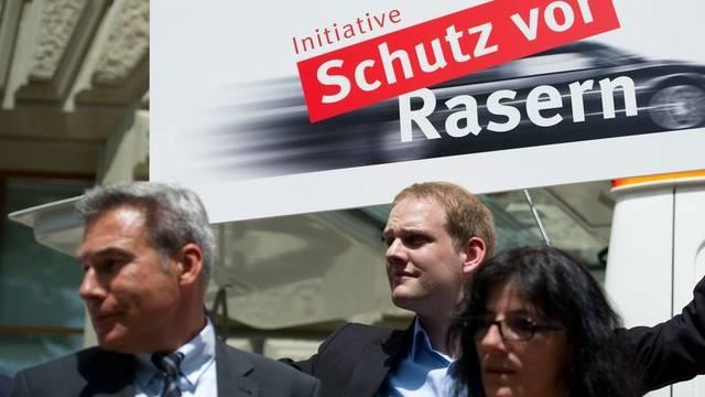 SVP-Ständerat Adrian Amstutz hat das Raser-Thema politisch bereits aufgenommen (Archiv)