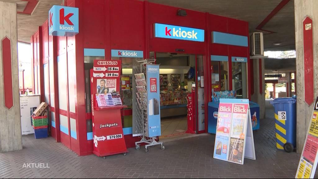 Kunde erzählt von Kiosk-Überfall mit Schutzmaske