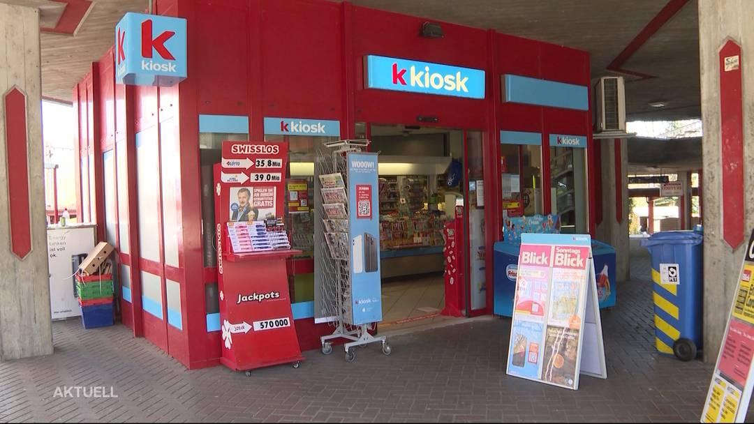 Kunde erzählt von Kiosk-Überfall mit Schutzmaske in Neuenhof