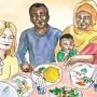Der Verein Gastschafftfreund bringt einheimische Gastgeber und immigrierte Gäste zu Speis und Trank zusammen.