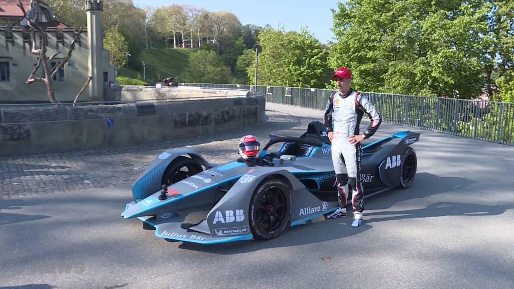 Formel-E-Star rast durch Berner Altstadt