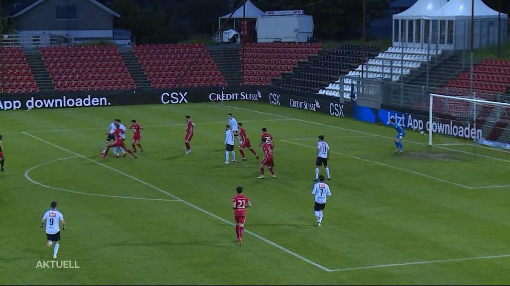 Barrage aus für den FCA nach 0:3 Packung gegen FC Stade Lausanne-Ouchy