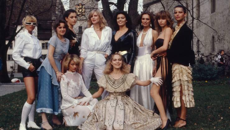 Monika Kälin wurde 1981 auf Schloss Lenzburg vom Männermagazin «Penthouse» zum Mädchen des Jahres gekürt.