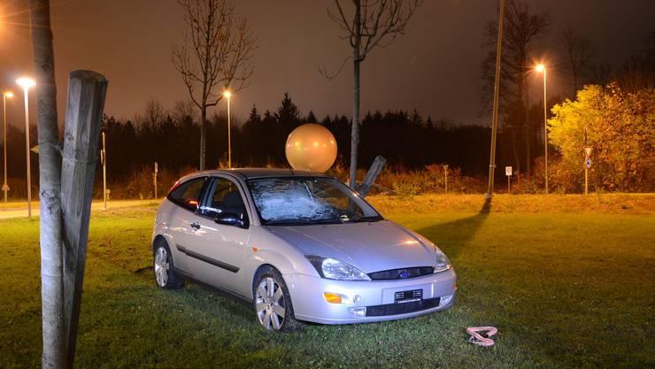 Verkehrsunfall in Pratteln