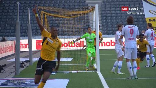 Young Boys preschen in den Cup-Final vor
