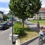 Neuer öffentlicher Platz zwischen Bifangmatte und Bifangstrasse.