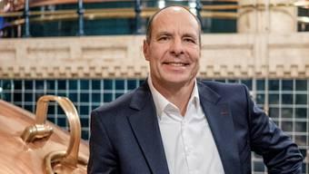 Feldschlösschen-Chef Thomas Amstutz im Sudhaus der Brauerei in Rheinfelden. Der Konzern braut in der ganzen Schweiz 40 Markenbiere. Mario Heller