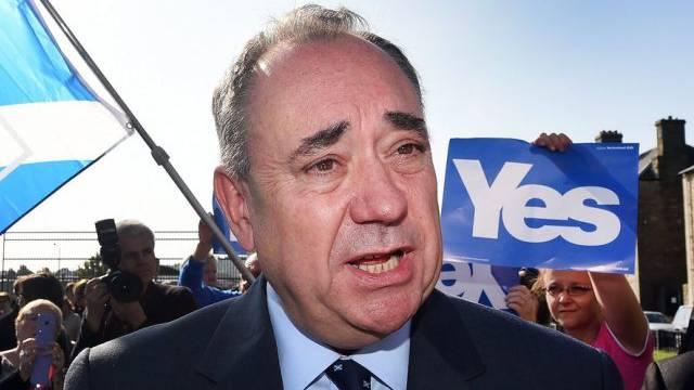 Alex Salmond will Schottland von Grossbritannien abspalten (Archiv)
