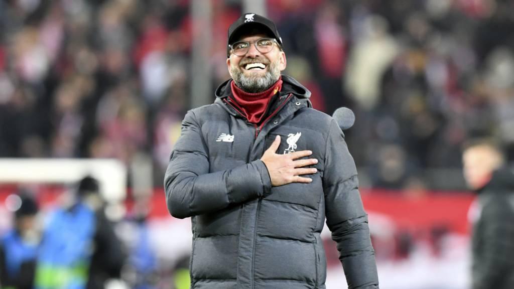 Jürgen Klopp bis 2024 Trainer von Liverpool