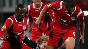 Winterthur bleibt am Leader-Duo dran