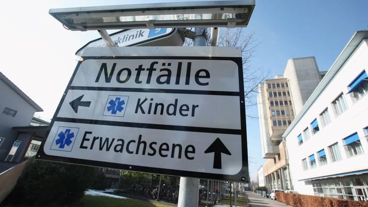 Kantonsspital in Aarau: Hier ging der Senior hin und nahm sich das Leben