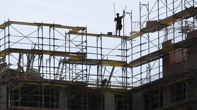 Das Baugewerbe blickt in der Region Brugg auf ein überdurchschnittliches Geschäftsjahr zurück. (Symbolbild)