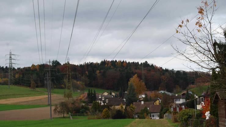 Wohlener Gemeinderat will keine überirdischen Hochspannungsleitungen durch den Wald zwischen Wohlen und Fischbach-Göslikon
