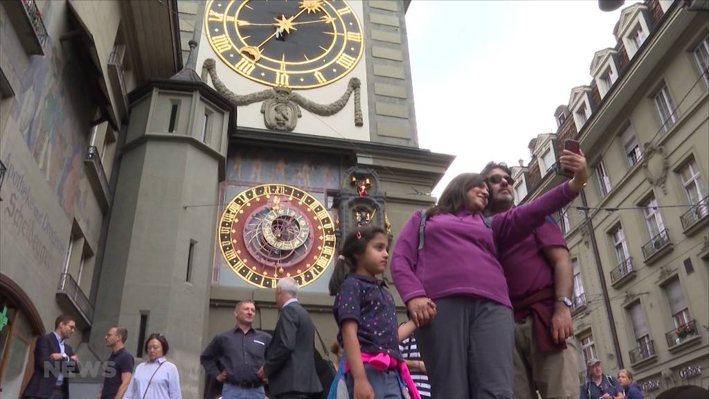 Bern soll kaum Touristen haben