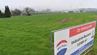 Industriebauland in Däniken steht zum Verkauf