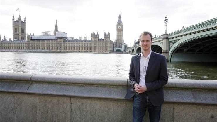 Im Zentrum von London hat Joel Stutz neu ein eigenes 3-D-Animation-Studio, um sich noch besser mit den grossen Firmen in diesem Gebiet messen zu können.ZVG