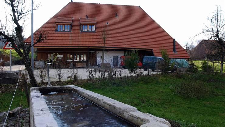 Ort der Razzia im Jahr 2015: Das Zentrum der Kirschblütengemeinschaft in Lüsslingen.