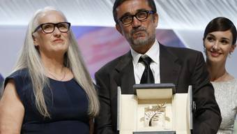 Siegerfilm-Regisseur Ceylan mit Jury-Präsidentin Campion