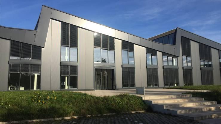 Die Halle der Rohrer AG. Bild: mf