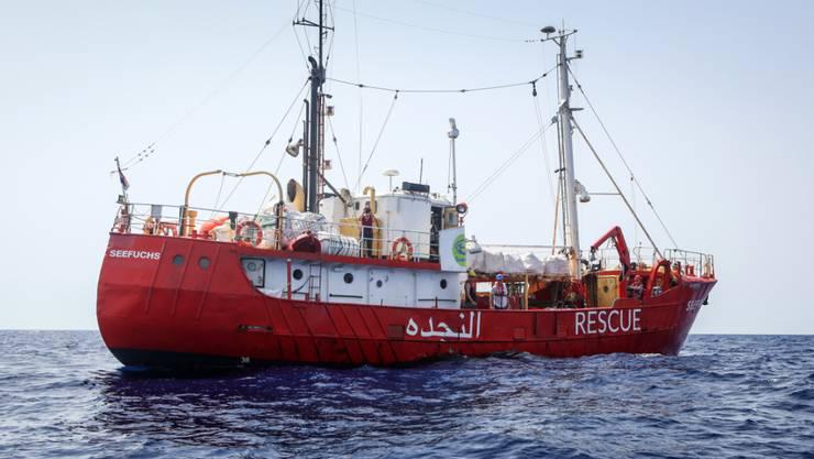 """""""Seefuchs"""", das Schiff der deutschen Hilfsorganisation Sea-Eye, darf wieder auslaufen. (Archivbild)"""