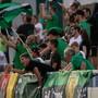 Zuschauer im Kleinfeld beim Spiel des SC Kriens gegen GC.