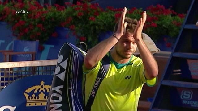 Stan Wawrinka ist nicht mehr bei der Swiss Open in Gstaad dabei