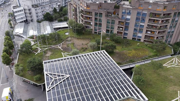 Der Plan der CS Pensionskasse zum Brunaupark wurde gestoppt. (Archivbild)