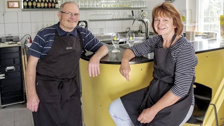 Gilbert und Silvia Oberson werden ihre Brauerei in Himmelried bald verlassen. Ob sie Nachfolger finden, steht in den Sternen.
