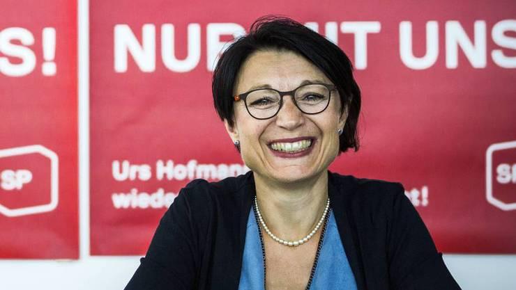 12. August: Yvonne Feri gibt ihre Regierungsrats-Kandidatur bekannt.