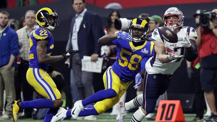 Die Patriots gewannen im letzten Super Bowl gegen die LA Rams mit 13:3 – wirklich spannend war das Spiel nicht.
