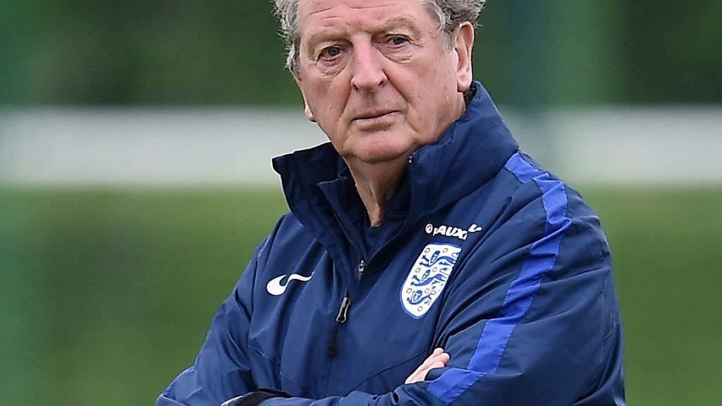 Roy Hodgson war bis zur EM englischer Nationalcoach