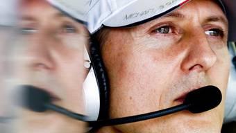 Kämpft weiter um sein Leben: Michael Schumacher (Archiv)