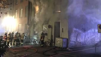 Verheerender Brand an der Wengistrasse 40 in Solothurn
