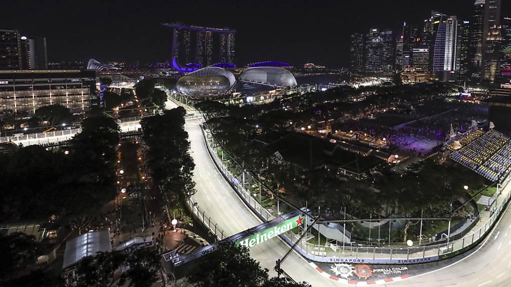 Die Formel-1-Strecke in Singapur bleibt auch in diesem Jahr unbefahren.