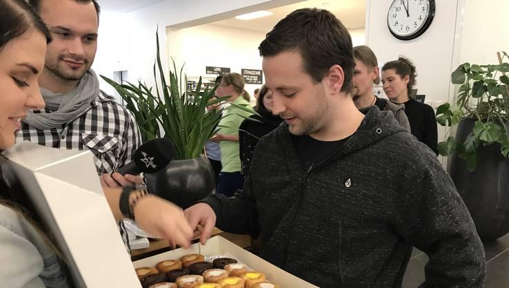 Ans Zentrum für körperbehinderte Menschen in Dättwil: Danke, dass ihr diese Menschen täglich und rund um die Uhr unterstützt.