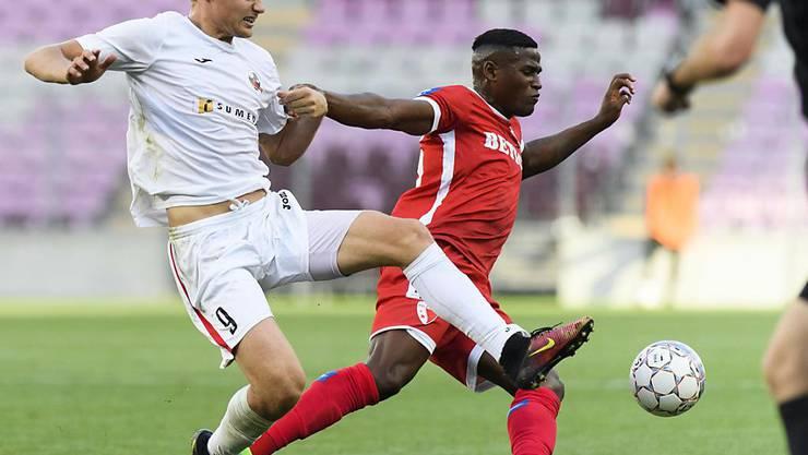 Joaquim Adão (rechts) in einem Match der Europa League