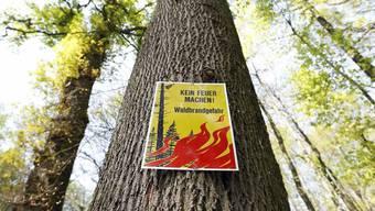 Waldbrandgefahr in beiden Basel (Symbolbild)